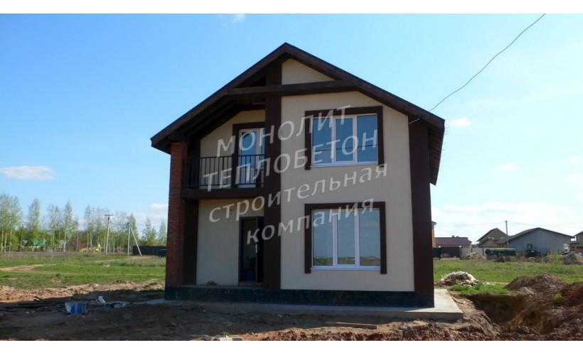Дом из теплобетона и несьемной опалубки Ижевская область
